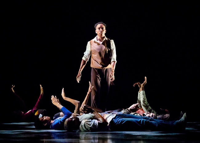 04f147a8625 A scene from the Alvin Ailey American Dance Theater Company s latest  work